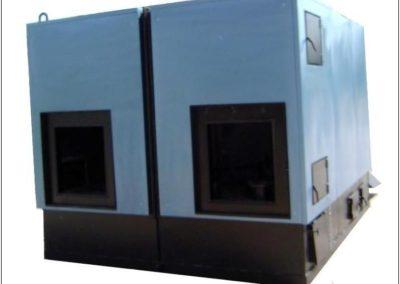 Kocioł 1300 kW przystosowany do współpracy z automatem trocinowym